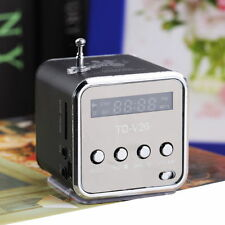 Portable Micro SD TF USB Mini Stereo Speaker Music Player FM Radio PC MP3 /4 GH