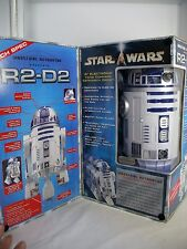 "STAR WARS INTERACTIVE 2002 R2-D2 ASTROMECH DROID ROBOT 15"" NEW MIB"