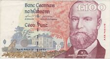 1996 IRELAND P79 ONE HUNDRED POUNDS BANKNOTE IN EXTREMELY FINE CONDITION