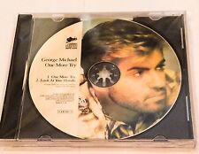 XX RARE GEORGE MICHAEL PICTURE CD DISC ONE MORE TRY +LOOK AT YOUR HANDS