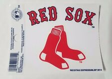 "Boston Red Sox 3 x 4"" Small Static Cling - Truck Car Auto Window Decal NEW"