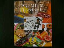 "FLY TYING  ''NEW'' VENIARD ""PREMIUM"" FLY TYING COMPLETE KIT  *NOW INC. VICE"