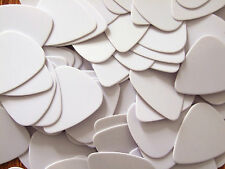 100pcs 0.71mm Musical Accessories White Guitar Picks Guitar Plectrums