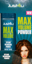 Just4u Max Volume Volumising Powder Hair Styling, Boosts Roots 10gm
