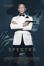 007 SPECTRE MANIFESTO JAMES BOND IAN FLEMING DANIEL CRAIG SAM MENDES BELLUCCI