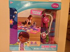 Disney Junior Doc McStuffins Game And Play Rug New!