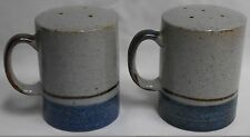 Otagiri Stoneware MARINER PATTERN Range Top Salt/Pepper Shakers JAPAN
