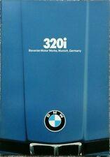 BMW E21 320i   USA Market Sales Brochure - February 1979