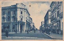 # BRINDISI: BANCO DI NAPOLI E CORSO GARIBALDI  1946