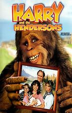 HARRY AND THE HENDERSONS 11x17 mini movie poster collectible