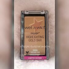 Wet N Wild Highlighter: Highlighting Gold Bar - LIMITED EDITION [1 STOCK ONLY!]