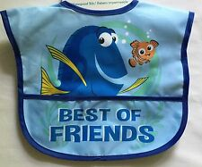 Baby Boy Waterproof Bib Disney Nemo & Dory detail
