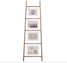 Solid Wood Photo Frame Ladder decor home collage art room