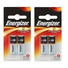 4 pcs E90 Energizer batteries 1.5V  LR1 N MN9100 AM5