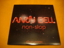 Cardsleeve Full CD ANDY BELL Non-Stop ALBUM PROMO 10TR 2010