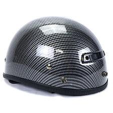 Vega XTS Carbon Fiber Graphic Helmet Extra Small Cruiser Chopper Bobber Visor