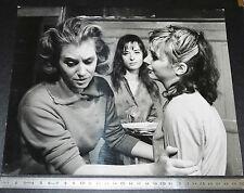 PHOTO CINEMA 1963 LES ABYSSES COLETTE ET FRANCINE Bergé PASCALE DE BOYSSON