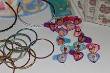 KIDS GIRLS LOT OF STICKERS BRACELETS RINGS COMBS ETC ALL BRAND NEW