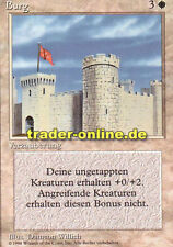 Château (Castle) Magic Limited Black Bordered German Beta FBB Foreign allemand Limit