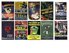 FRANKENSTEIN HORROR MOVIE POSTER PHOTO-FRIDGE  MAGNETS