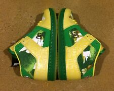 DC Manteca 2 M LX Woman's Size 7 Emerald Yellow BMX Skate Shoes Sneakers