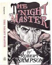 THE NIGHT MASTER by Robert Sampson - 2nd print hardcover 1982 - Shadow pulp hero