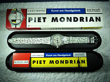 "Laks Watch Sammler Edition Piet Mondrian ""Composition with lines"" Limitierte Ed."