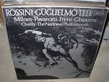 CHAILLY / ROSSINI guglielmo tell ( classical ) - 4lp box - uk - booklet -