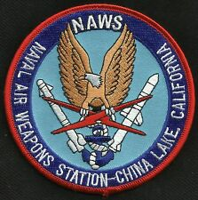 NAWS - Naval Air Weapons Station CHINA LAKE California Military Patch