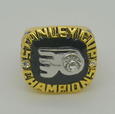 1974 Philadelphia Flyers Stanley Cup Championship Replica Ring - Bobby Clarke