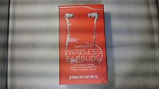 Plantronics BackBeat Go 2 Wireless Hi-Fi Earbud Headphones White - New Other