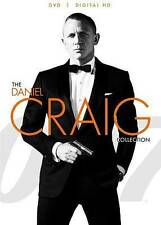 The Daniel Craig Collection (DVD, 2015) Carino Royale Quantum Solace Skyfall NEW