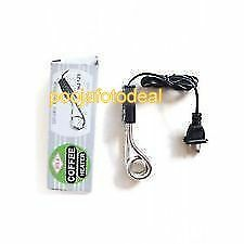 New Electric Mini Small Coffee/Tea/Soup/Water/Milk Heater Boiler Immersion Rod
