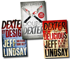 Next 3 Books of Jeff Lindsay Novel Collection Set Dexter is Delicious, Double