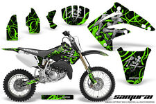 HONDA CR 85 03-07 GRAPHICS KIT CREATORX DECALS STICKERS SAMURAI GB