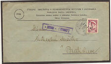 CZECH / SLOVAKIA. 1935. JASTRABEJ CREDIT UNION COVER. RURAL AGENCY JASTRABAJ KRE