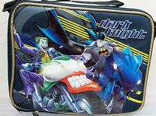 Marvel Dark Knight Batman Joker School Lunch Bag Box