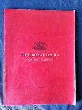 THE ROYAL OPERA - TOSCA - 2000 60pp