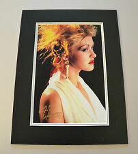 Cyndi Lauper Signed 16x12 Photo Autograph Display Genuine Music Memorabilia +COA