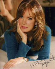 JACLYN SMITH PERSONALLY OWNED AND WORN BROWN  DESIGNER CREATED FLORAL L/S SHIRT!
