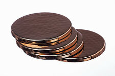 Copper Coasters - Set of 4, Hand Beaten, Made in Scotland