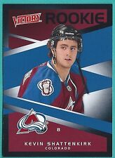 2010-11 Upper Deck Victory Black Parallel card #301 Kevin Shattenkirk (Rookie)