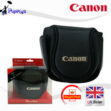 Nueva Canon Deluxe Funda Flexible Powershot (L) Para 100d, Sx50hs, Sx40hs, Sx30is