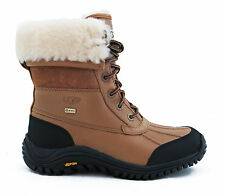 UGG Australia Adirondack II Otter Brown Leather Boots Women 9 *NEW*