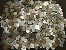 10 LBS(AVDP) POUNDS MIX LOT World FOREIGN COINS Huge Bulk Lot NO CANADIAN CENTS!