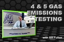 4 & 5 Gas Emissions Testing/ Auto Training/ DVD/ Manual/ 43