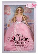 BARBIE 2015 BIRTHDAY WISHES DOLL CFG03 *NEW*