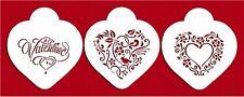 Be My Valentine Heart Set Cake Stencil by Designer Stencils #C878