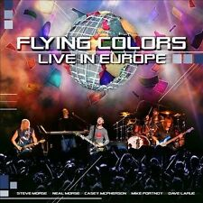 FLYING COLORS CD - LIVE IN EUROPE [2 DISCS](2013) - NEW UNOPENED - ROCK