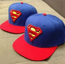 New Fashion Sexy Superman Hip hop Snapback Baseball Adjustable Cap&hat Blue